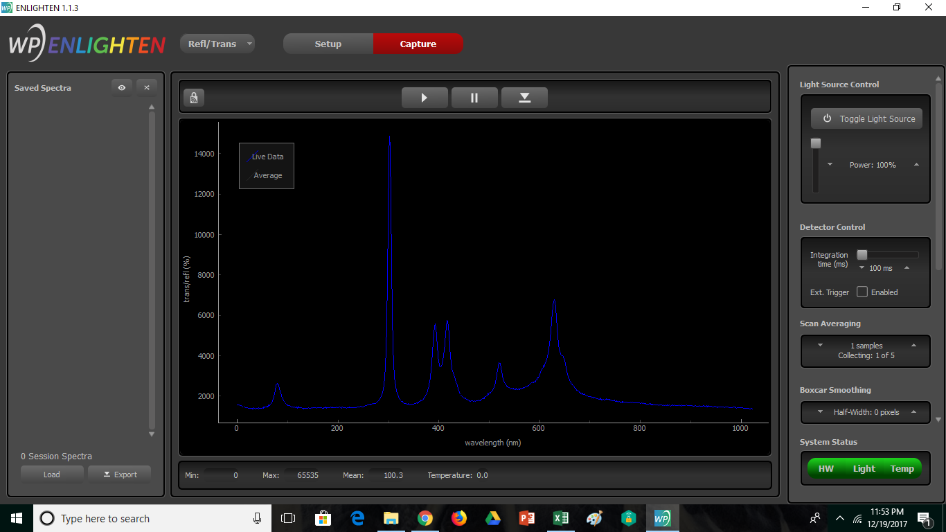 ENLIGHTEN spectroscopy software