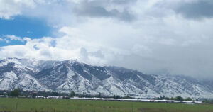 Logan UT mountains