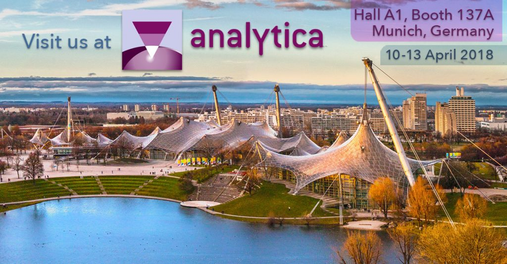 Analytica 2018, Stand A1.137A