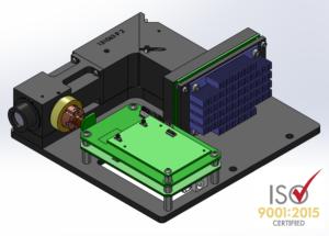 OEM Raman spectrometer with electronics