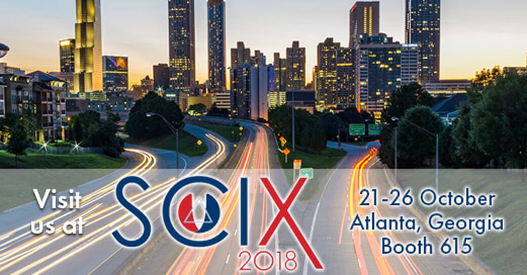 Visit us at SciX 2018. booth 615!